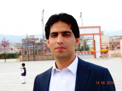 Farhad Zaheer who is a School Teacher and Social Activist in Nangarhar, Afghanistan. Email: Farhad201@hotmail.com