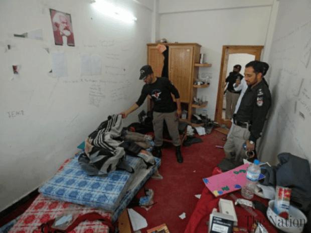 Mashal Khan room