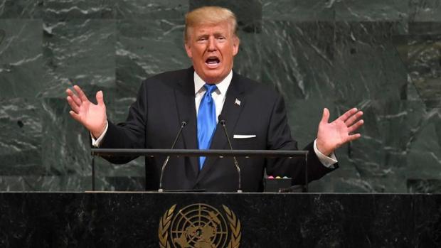 TRUMP IN UN
