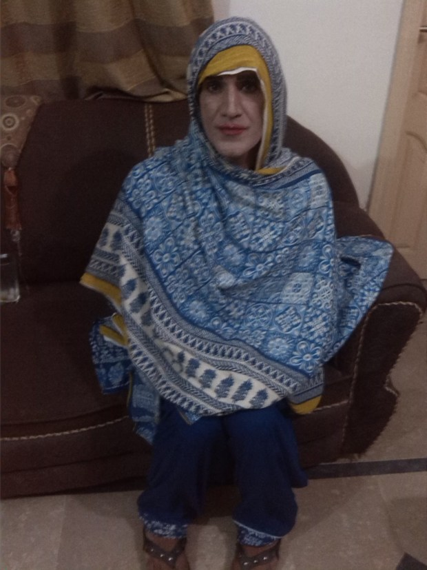 Saima - a local transgender from Islamabad