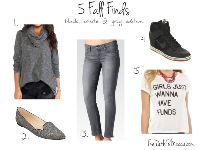 5 Fall Finds