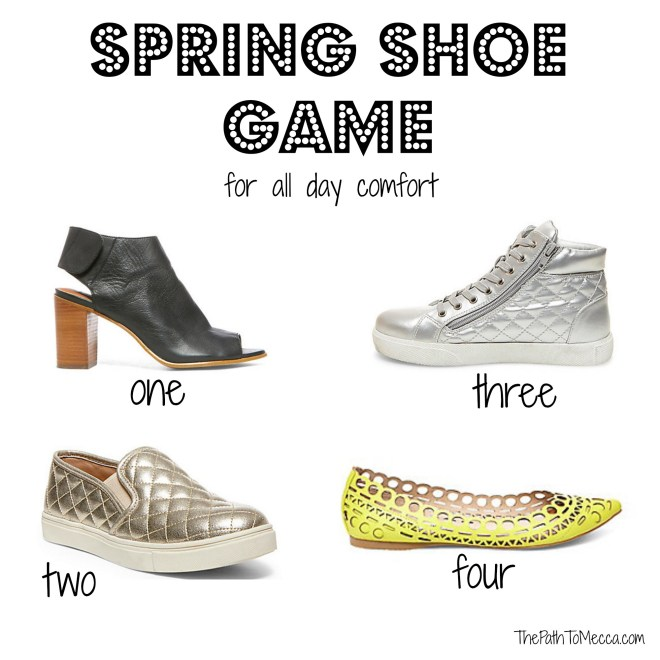 Spring Shoes for style and comfort