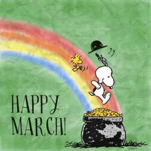 snoopy happy march