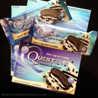 Quest Nutrition Cookies & Cream Protein Bars Review + Giveaway