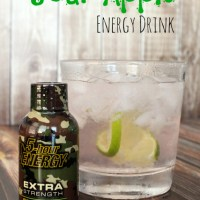 Sparkling Sour Apple Energy Drink + 5-Hour Energy Giveaway