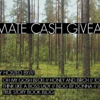 $750 Cash Giveaway