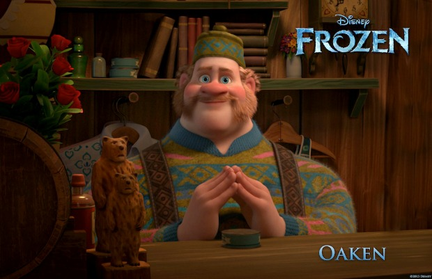 """FROZEN"" (Pictured) OAKEN.  ©2013 Disney. All Rights Reserved."