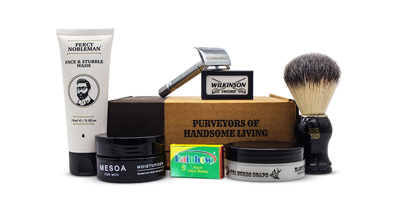 Wet shvaing kit The Personal Barber FebMarch 2020