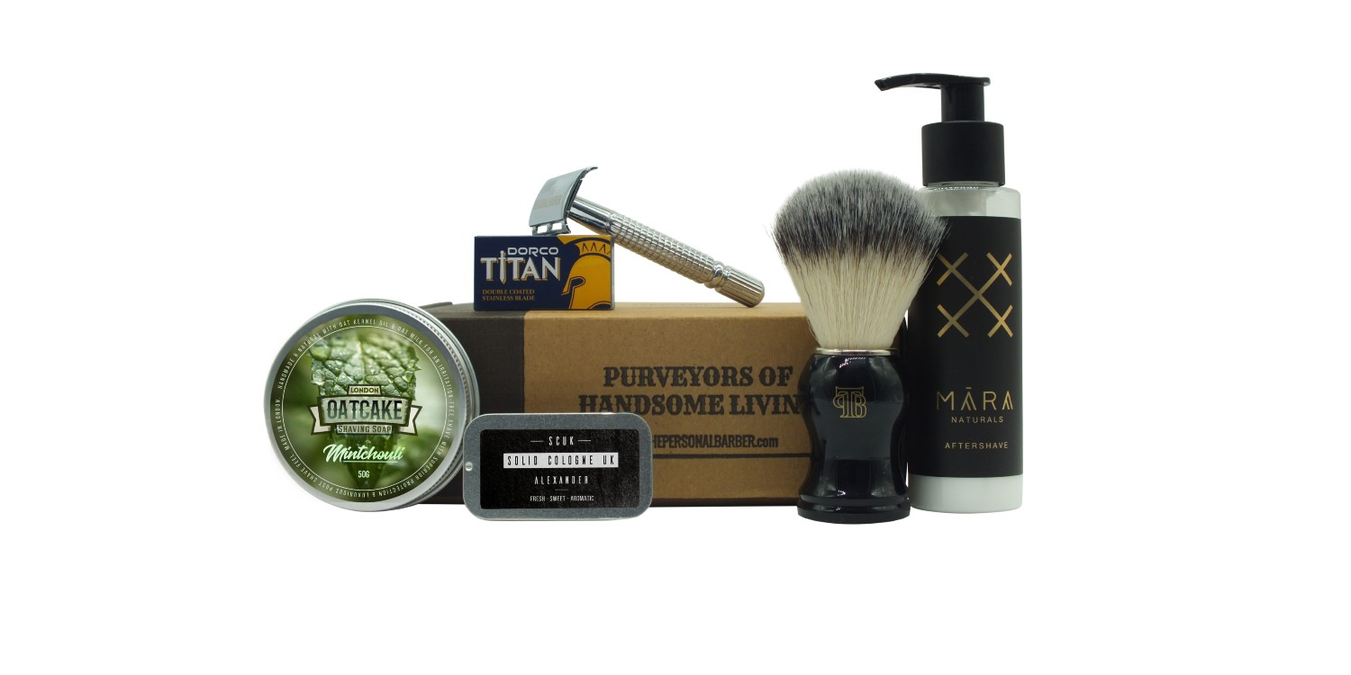 The Personal Barber Shaving Club Box MayJune20