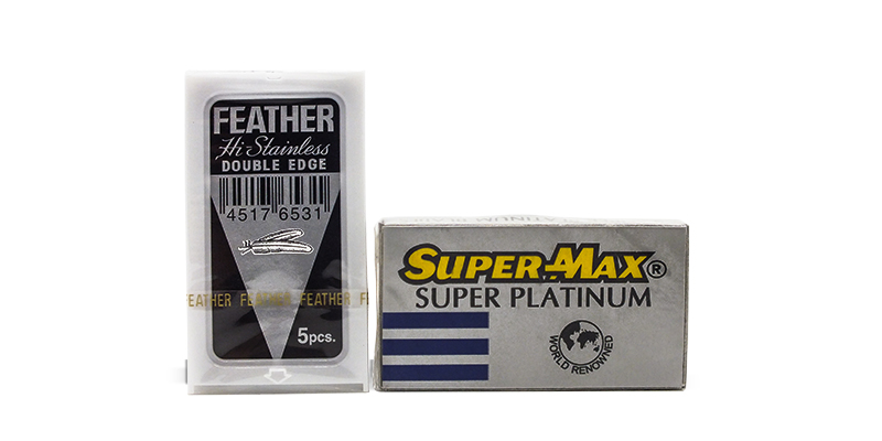 Feather and Supermax DE blades