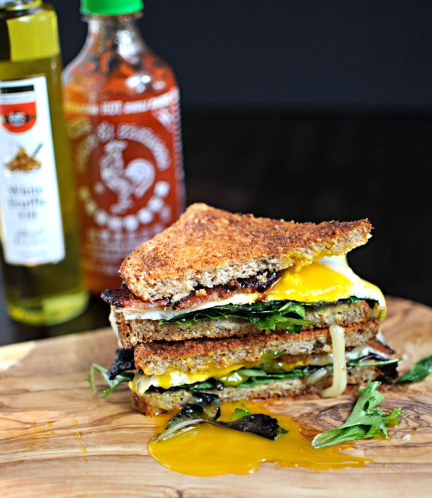 The Ultimate Bacon & Egg Sandwich | the pig & quill