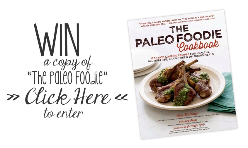 "WIN a copy of ""The Paleo Foodie"" Cookbook! And Arsy's Spicy Parsnip Hummus // the pig & quill"