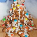 Gingerbread Christmas Tree - holiday cooking & baking with the kids