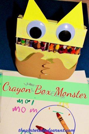 Crayon Box Monster