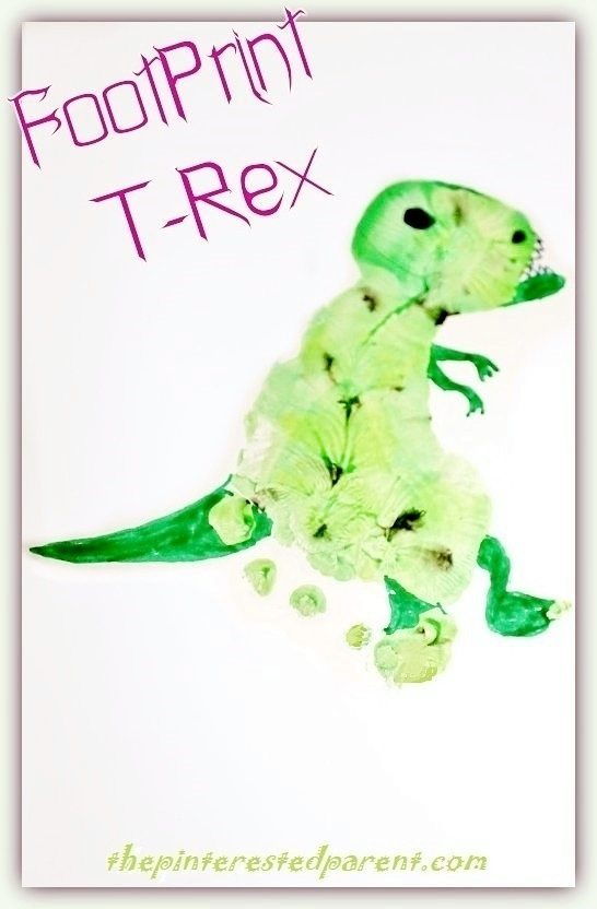 Dinosaurs crafts the pinterested parent for Dinosaur crafts for toddlers