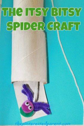 Itsy Bitsy Spider Craft