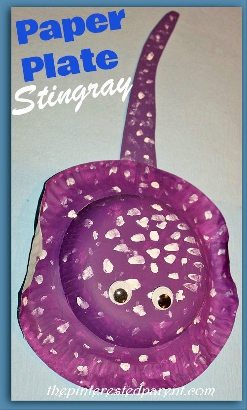 how to make a stingray out of paper