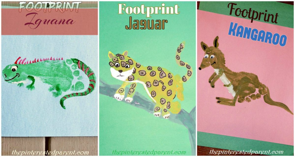 Footprint Crafts I-K