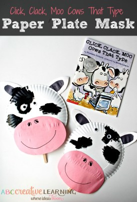 Click-Clack-Moo-Cows-That-Type-Cow-Paper-Plate-Mask