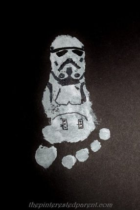 Footprint Inspired by a Storm Trooper from Star Wars