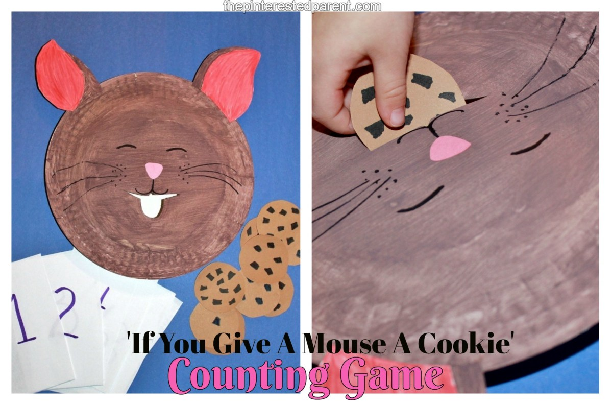 'If You Give A Mouse A Cookie' Counting Game
