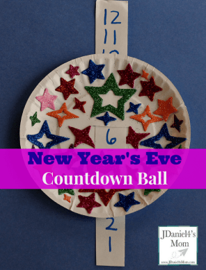 New Year's Eve Countdown Ball from JDaniel4's Mom