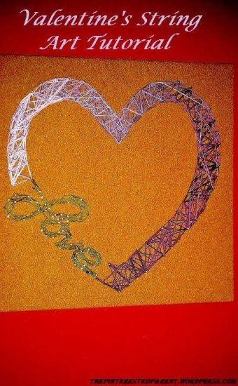 Heart & Love String art