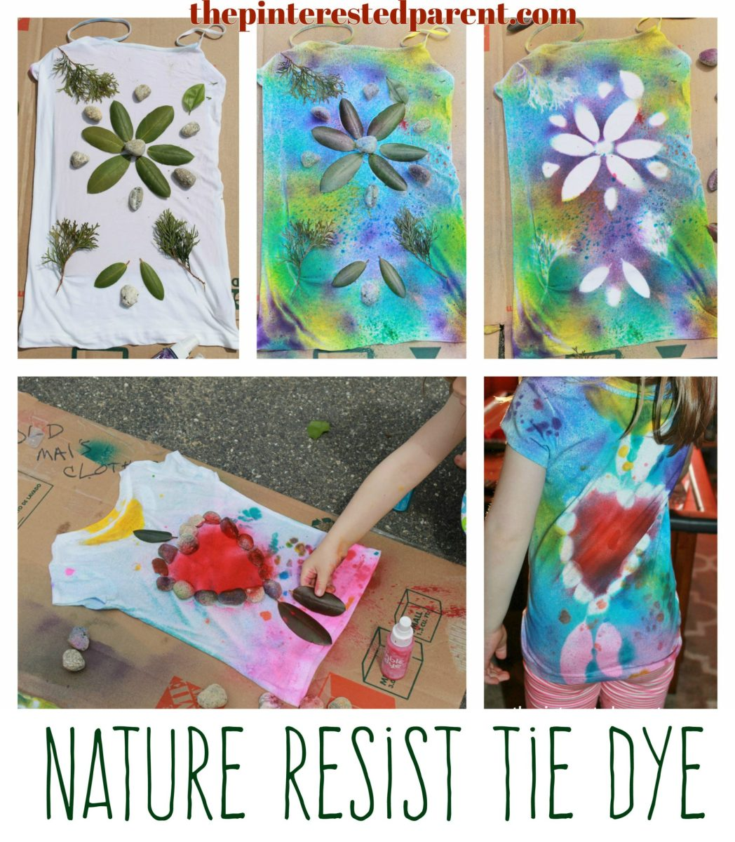 Nature Tie Dye Shirts