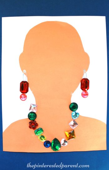 Jewelry craft - make a necklace & earrings - kid's arts & craft activities,