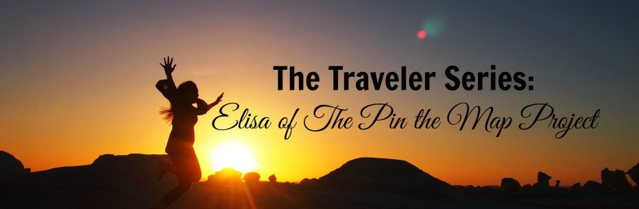 The Traveler Series: Elisa of The Pin the Map Project
