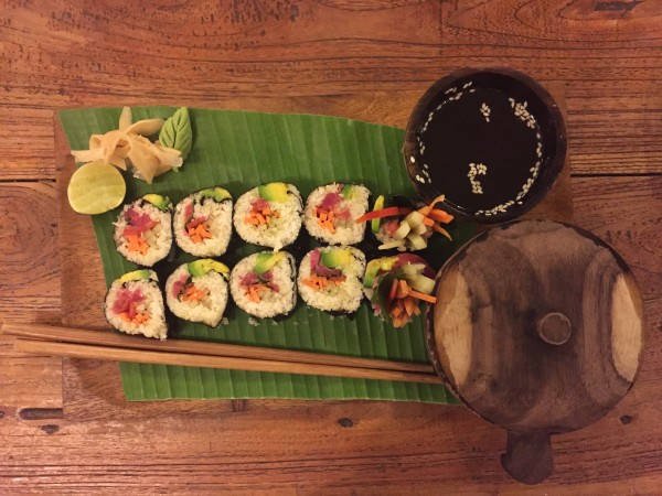 Alchemy raw sushi