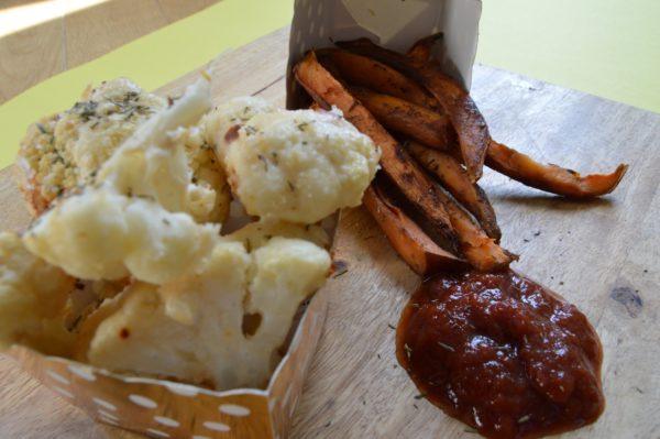 tahini_crusted_cauliflower_and_sweetpotato_fries