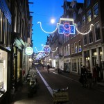 It's beginning to look a lot like Christmas on the streets of Amsterdam.