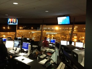 The American Airlines Operations Center at JFK.