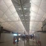 HKG's futuristic Terminal ___.