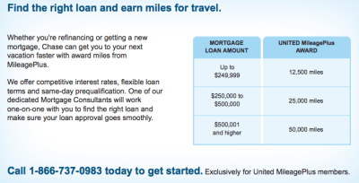 Up to 50,000 United Miles With Chase Home MortgagesThe Points Guy