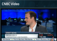 My Street Signs Appearance on CNBC – How To Avoid the Elite Status Frequent Flyer Cliff