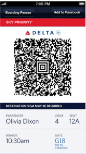 Ability to add boarding pass to Passbook.