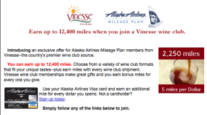 Join a wine club - earn bonus points!