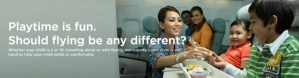 Malaysia Air's solution is a baby-free First Class.