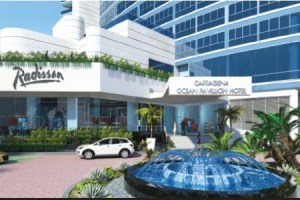 Radisson Cartagena Ocean Pavilion Hotel.