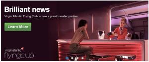 Ultimate Rewards Virgin Atlantic