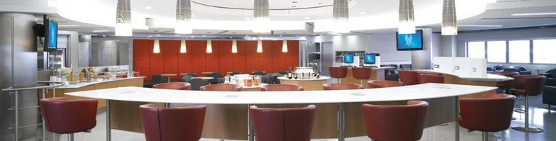 Admirals Club lounges offer several complimentary beverage choices - none are that interesting though.