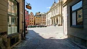 Stockholm's Old Town.