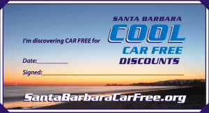 Santa Barbara is encouraging visitors to go car-free.