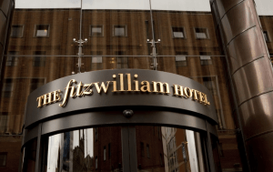Exterior of the Fitzwilliam hotel
