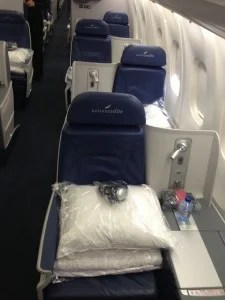 All seats feature direct aisle access.
