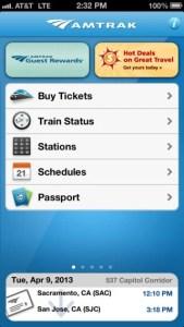Amtrak App