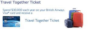 The British Airways Travel Together Ticket.