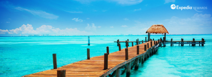 Expedia wants to entice you into buying this deal with this photo of a dock.
